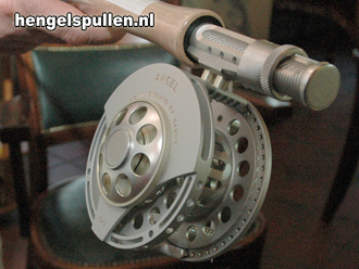 De Hardy Angel reel en Hardy Angel hengel